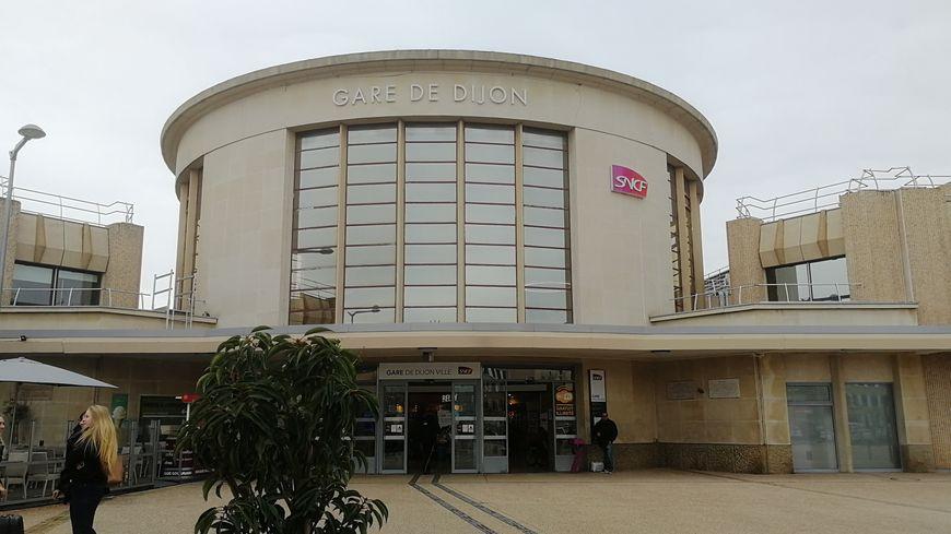 La gare de Dijon