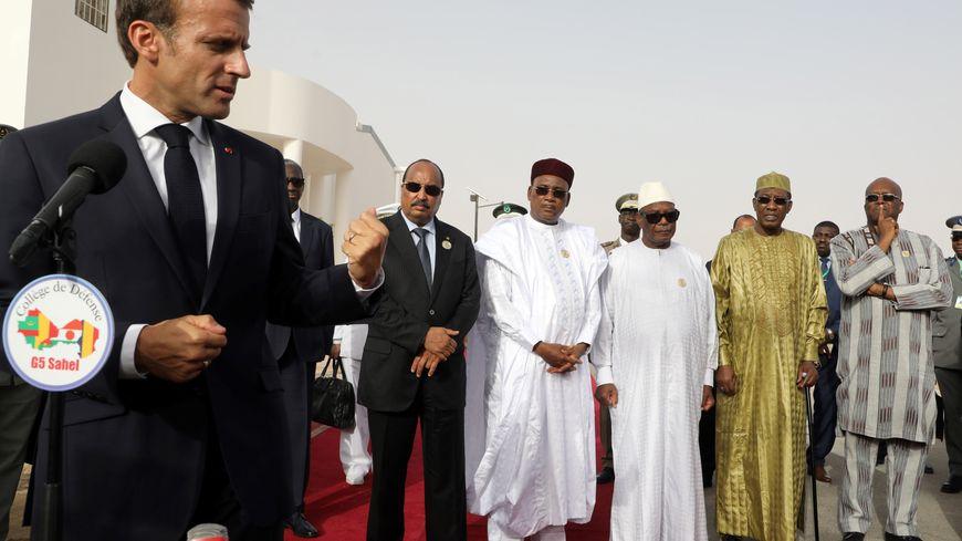 Emmanuel Macron avait participé à un sommet du G5 Sahel en juillet 2018 en présence des chefs d'Etats africains.