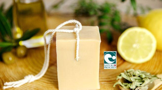 L'un des savons fabriqué à Ygos Saint Saturnin