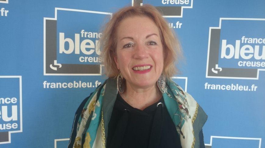 Nadine Jammot retraitée de la fonction publique à Guéret adore sa Creuse
