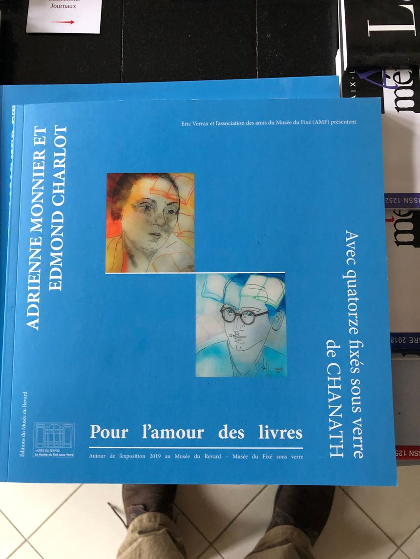 Adrienne Monnier livre