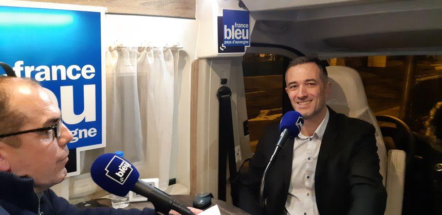 """Stéphane Herman, membre du Modem, conduit la liste """"Mouvement pour Cournon"""""""