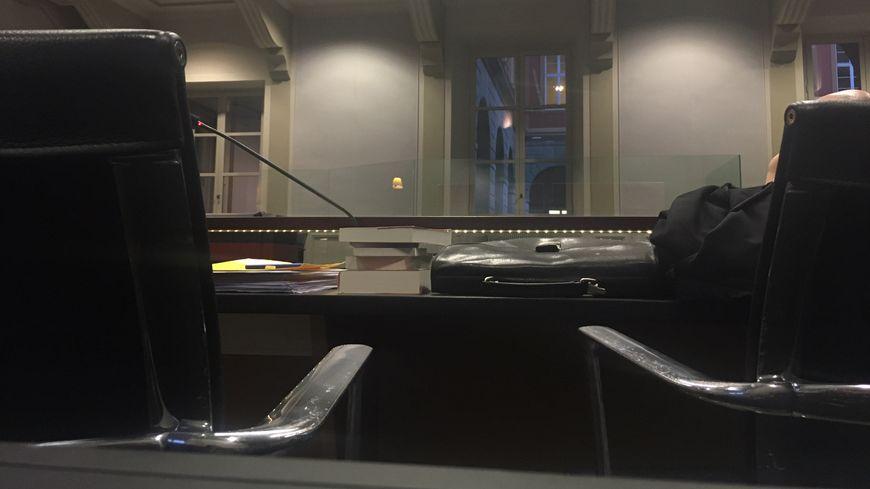 La cour d'assises de Savoie pendant le procès d'Adrien Bottollier.