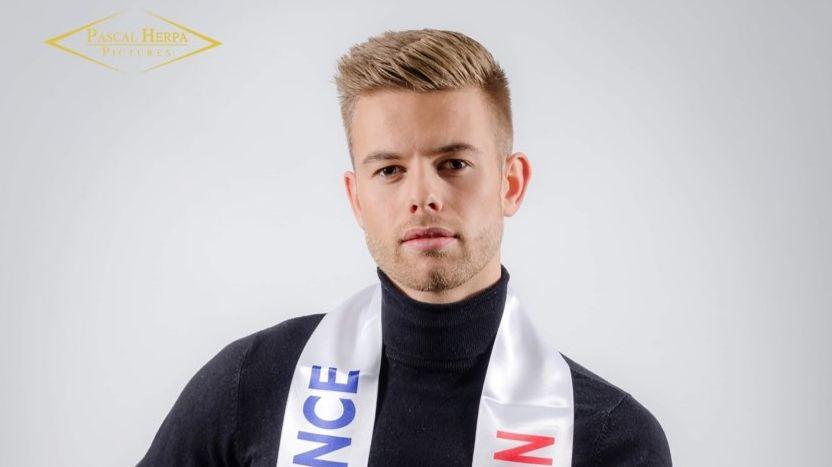 Corentin Folliot, originaire du pays saint-lois, a été élu Mister France Normandie le 30 novembre 2019.