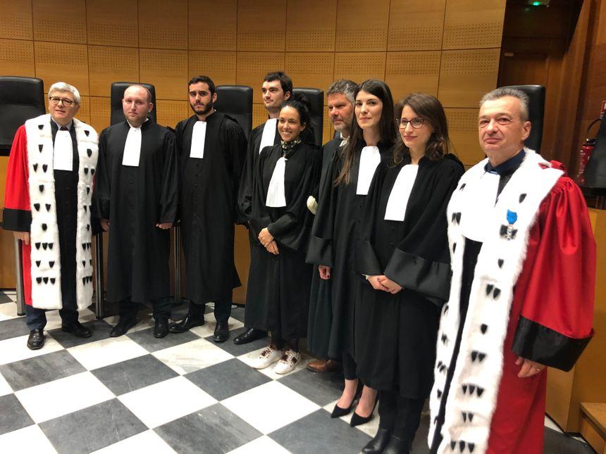 5 nouveaux avocats dans les barreaux de Bastia et d'Ajaccio