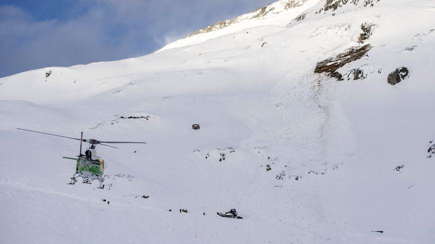 Un accident de ski en Suisse (image d'illustration)
