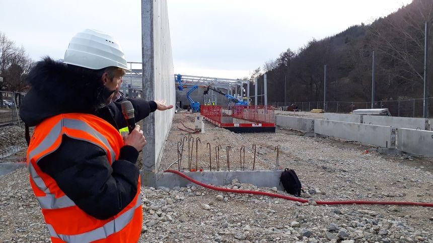 La gare de la Mure, d'où partira le Petit Train, est en plein chantier