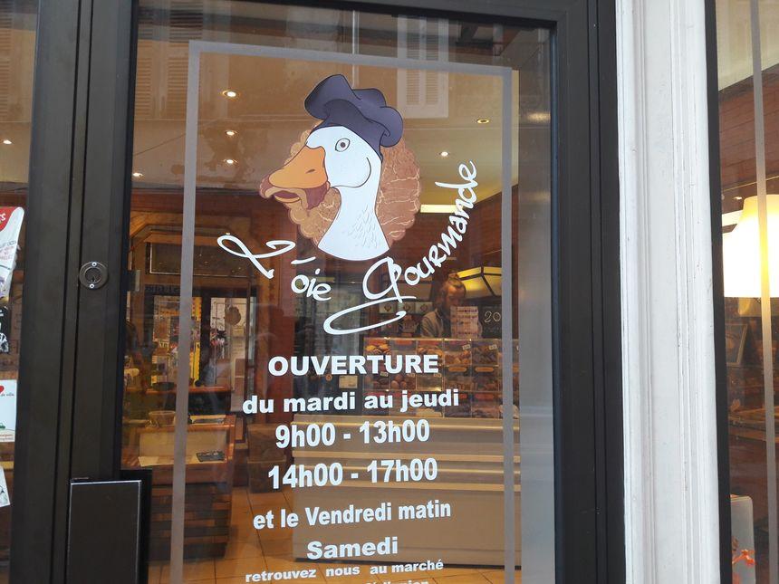 A St Girons, rue du Bourg