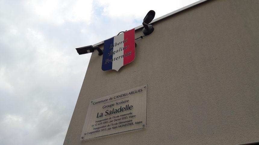 Les caméras ont été installées à Candillargues en priorité sur les bâtiments communaux, comme les écoles.