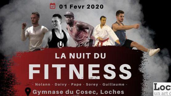 Affiche La Nuit du Fitness 2020 à Loches