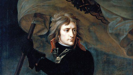 Napoléon Bonaparte par Antoine-Jean Gros (détail)
