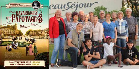 Bavardages et Papotages Scène de Beauséjour à Chatelaillon