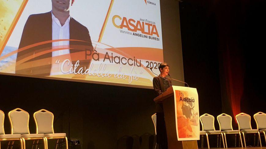 La liste Pà Aiacciu, emmenée par le duo Jean-François Casalta-Vannina Angelini-Buresi, a tenu son premier meeting de campagne ce mercredi