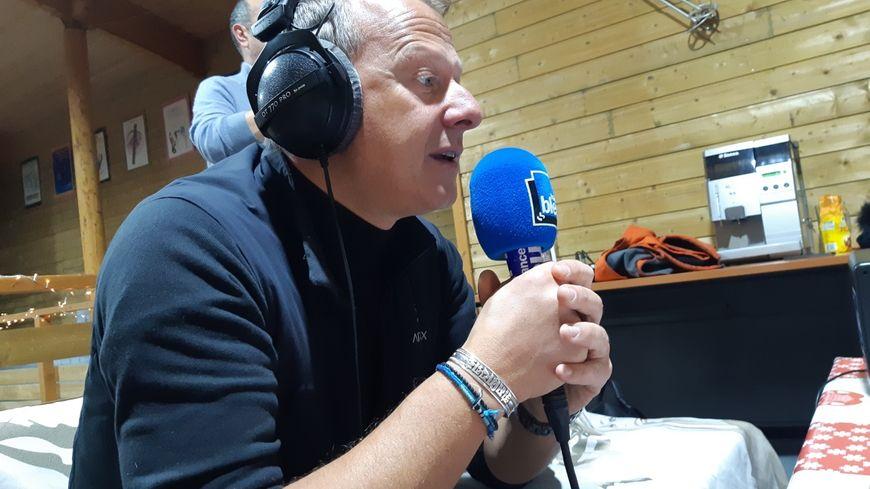 Franck Lecoutre, patron de l'office de tourisme de Chamrousse