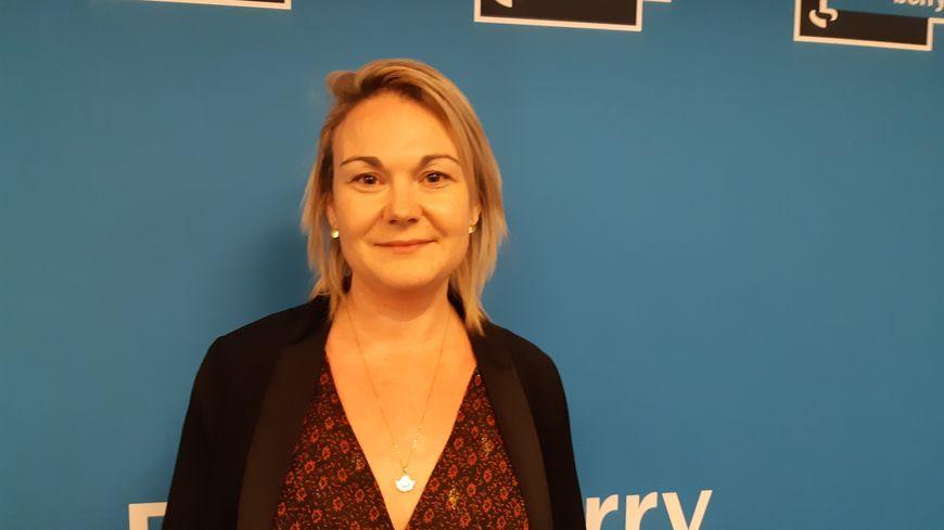 Delphine Chambonnneau, candidate PS à la mairie de Châteauroux
