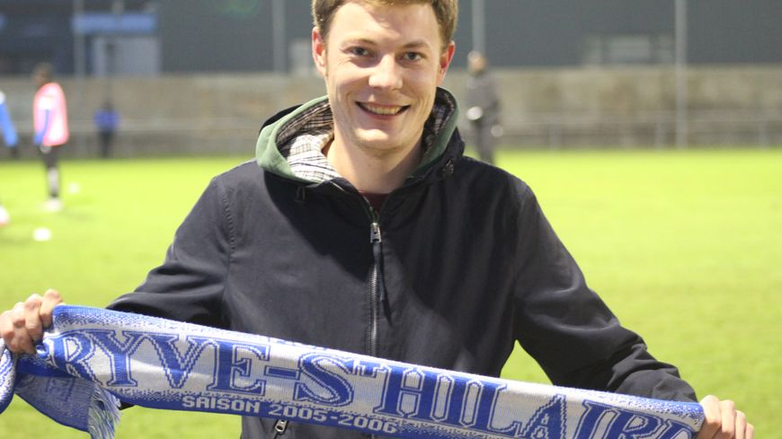 Joueur au club, en jeunes, Pierrick a dû quitter la région mais reste un fervent supporter de son club formateur