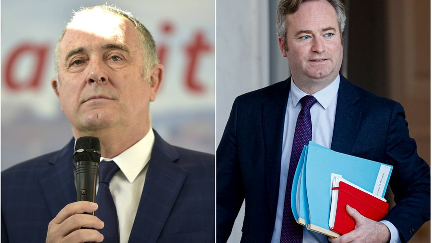 Didier Guillaume (à gauche) et Jean-Baptiste Lemoyne (à droite) ne seront finalement pas candidats à la mairie de Biarritz.