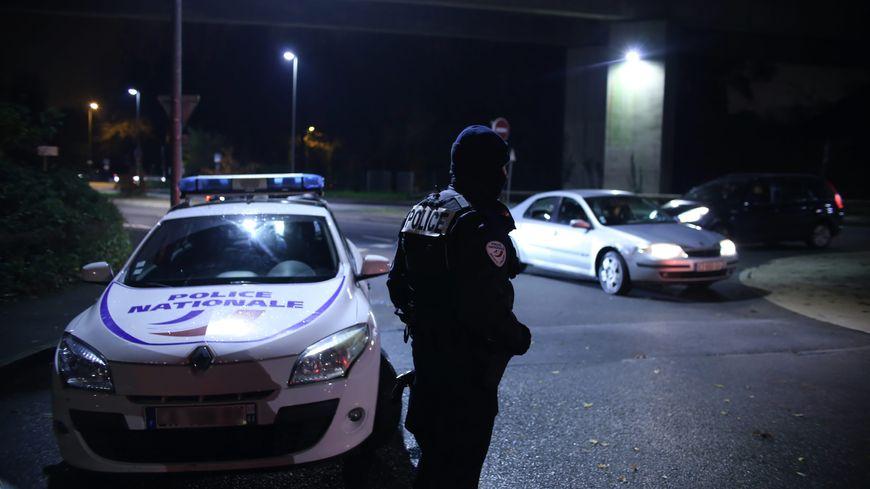 Voiture de police à Orvault, près de Nantes, le 1er décembre 2019 (photo d'illustration)