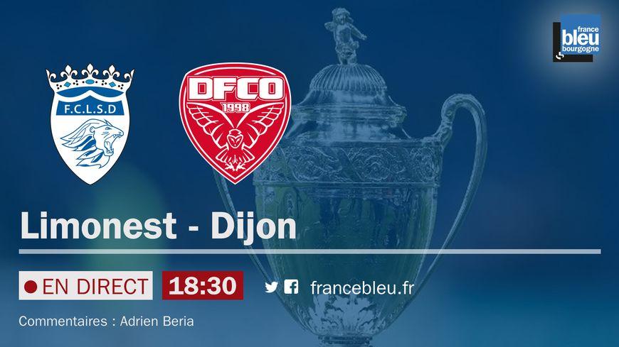 Suivez Limonest / DFCO mardi à 18h30 sur France Bleu Bourgogne