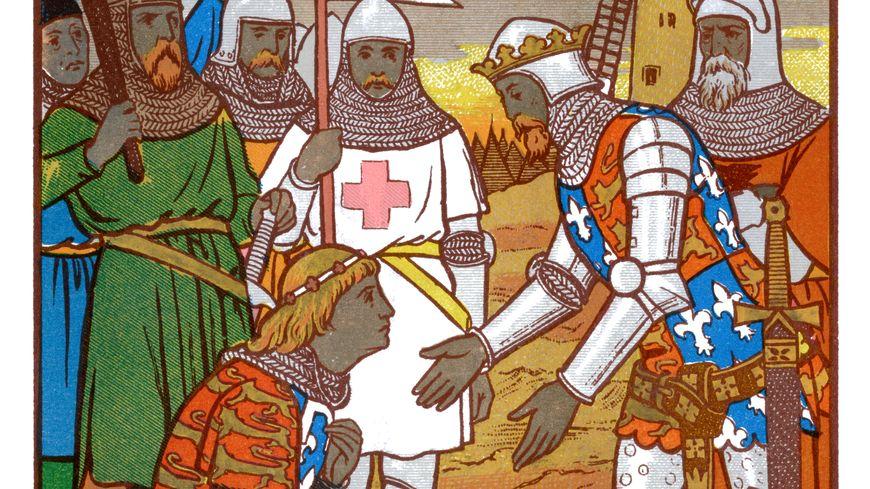 La défaite de Crécy en 1346