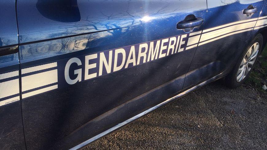 Voiture de la gendarmerie dans le Haut-Rhin. Illustration gendarmerie.