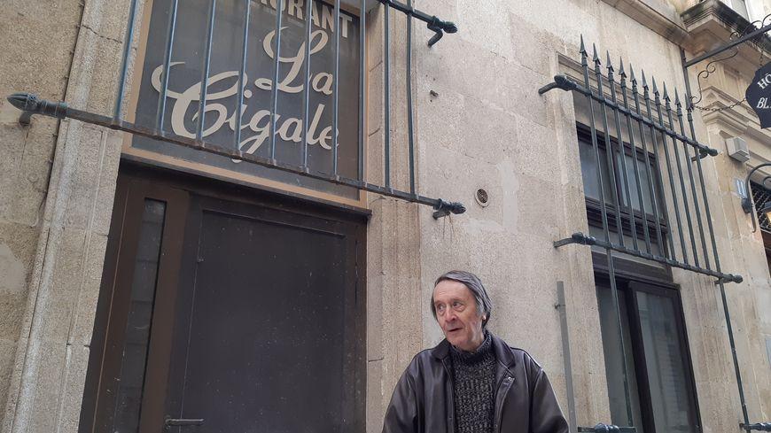 L'historien Robert Weisz se souvient que la police nazie était dans l'hôtel La Cigale rue Bancasse à Avignon
