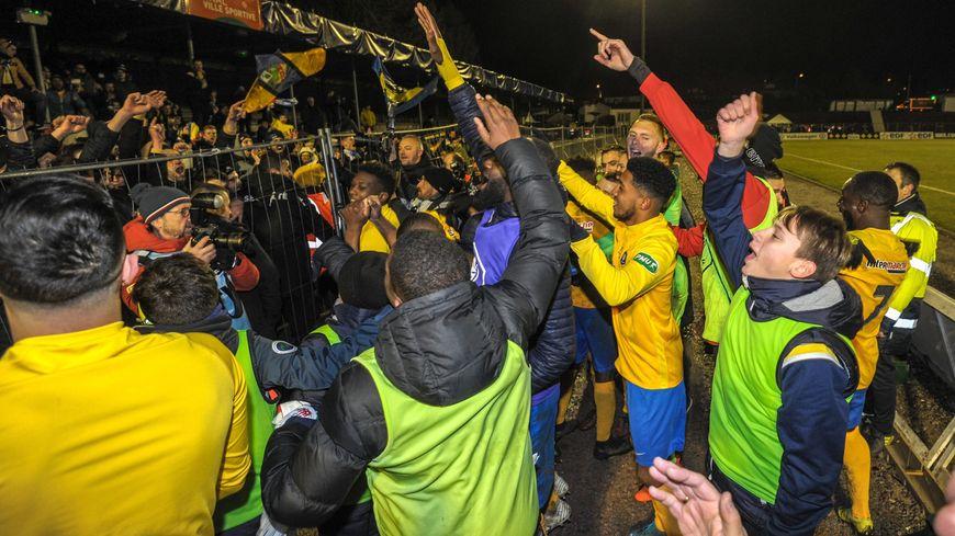 Le SAS Epinal fête sa qualification historique pour les quarts de finale de la Coupe de France