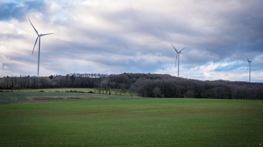 Parc éolien de Fouvent-Saint-Andoche en Haute-Saône