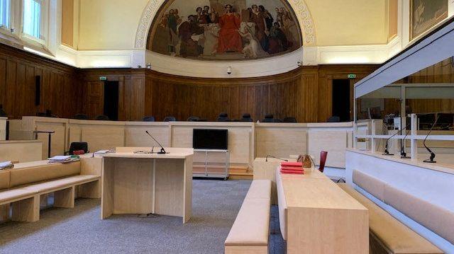 La salle du tribunal de Tours qui accueille la cour d'assise d'Indre-et-Loire