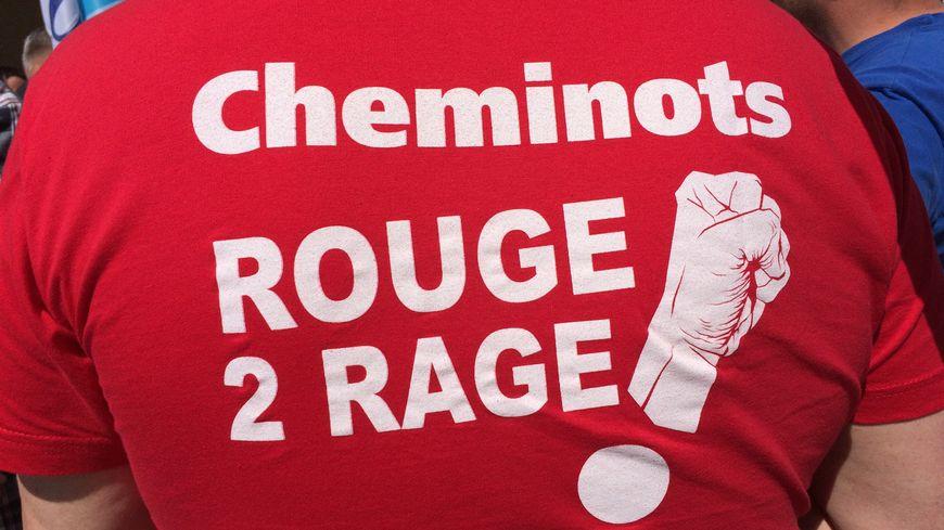 Au-celà de la réforme des retraites, les cheminots de Limoges dénoncent l'accumulation des réorganisations à la SNCF.