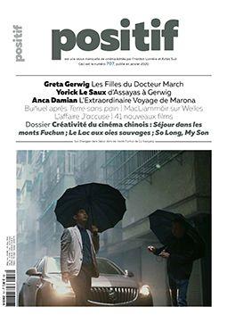 """Couverture de la revue """"Positif (Janvier 2020)"""