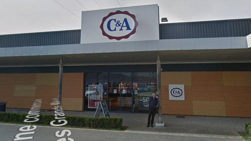 Le magasin C&A de Mers-les-Bains, dans la zone commerciale des Grands marais.