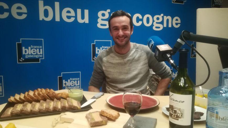 Yannick Galloin le chef du restaurant Le Valmont à Dax
