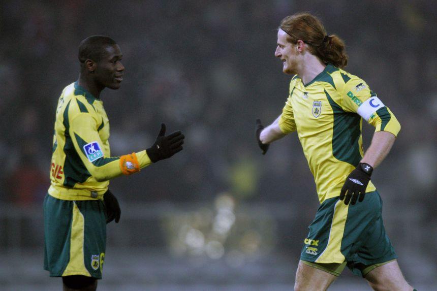 Le 23 décembre 2006, Mauro Cetto (à droite) avait participé à la plus large victoire du FC Nantes face à Toulouse, au Stadium municipal (4-0).
