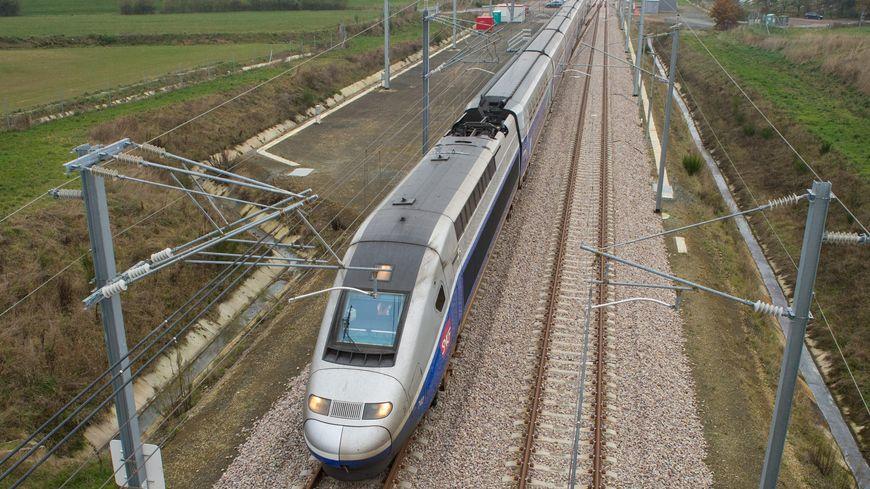 Le TGV circulait entre Paris et Rennes le 22 décembre 2019.