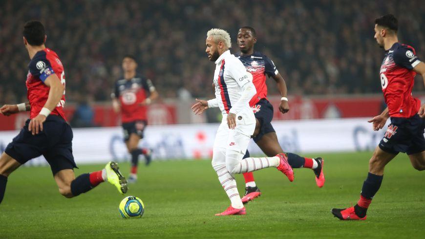 Le Brésilien Neymar a marqué un doublé face à Lille ce dimanche en Ligue 1 (2-0)Arnaud Journois