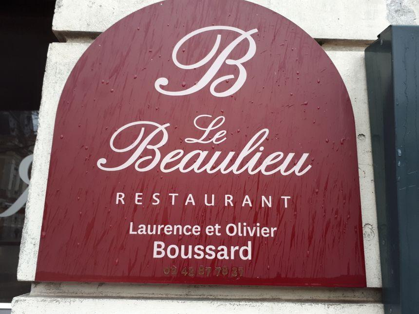 La façade du restaurant Le Beaulieu