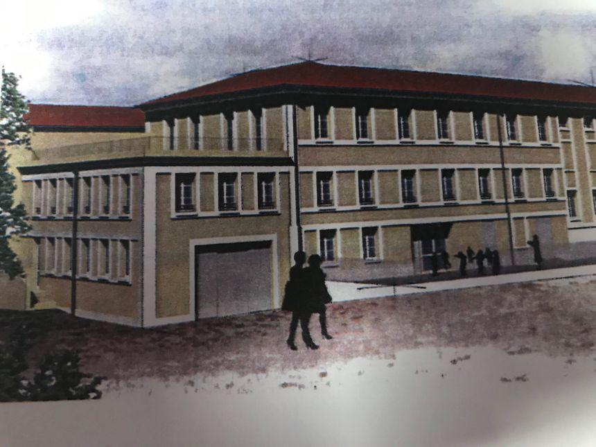 le projet de la nouvelle école primaire Sainte Croix à Saint Joseph Sarlat