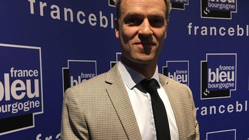 Benoît Trojak, chef du service d'addictologie au CHU de Dijon