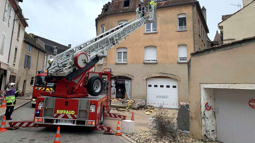 Les pompiers du Lot sont intervenus à la mi-journée, à Saint-Céré.