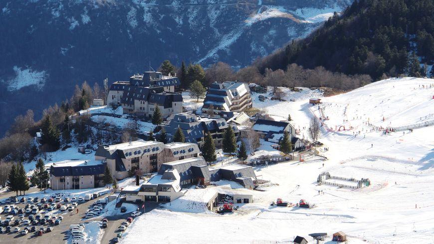 La station du Val Louron accueille les familles pour la découverte de la neige (Archives).