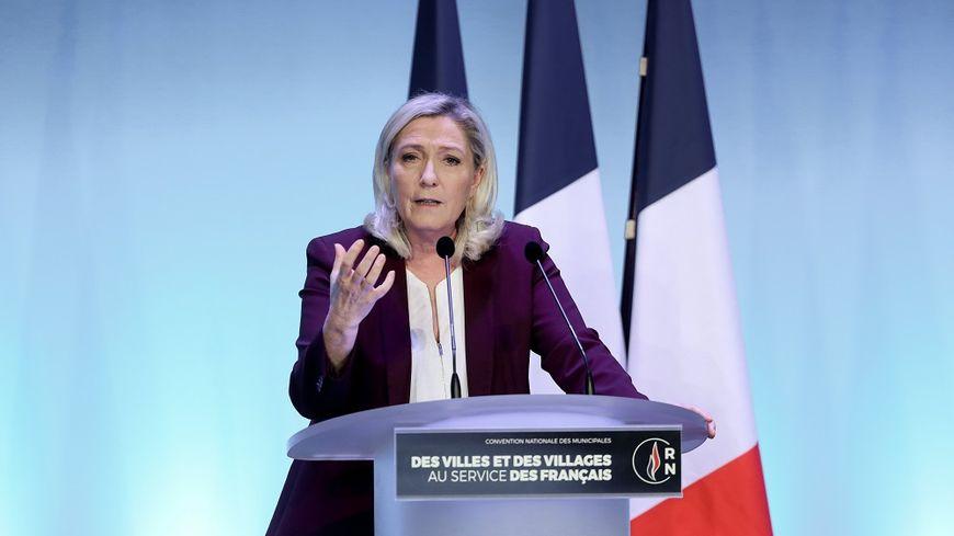 Marine Le Pen se présentera pour la troisième fois à la Présidentielle.