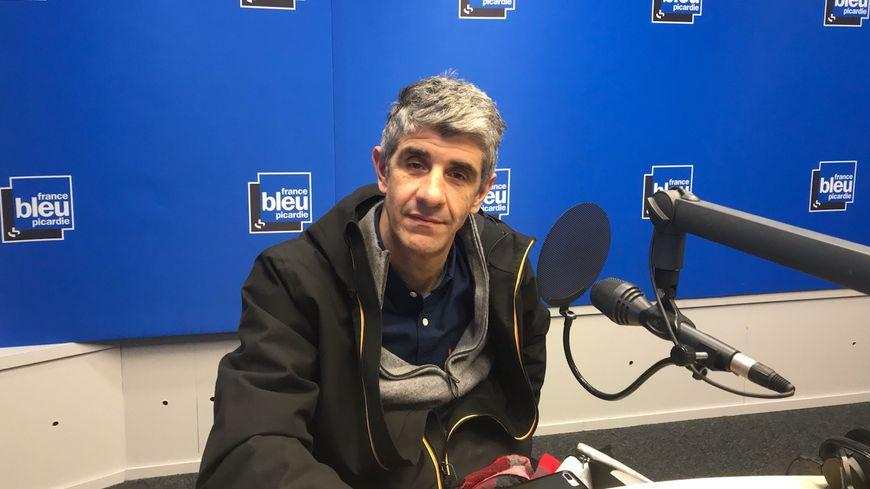 """Julien Pradat, candidat aux municipales sur la liste de gauche """"Amiens, c'est l'tien"""""""