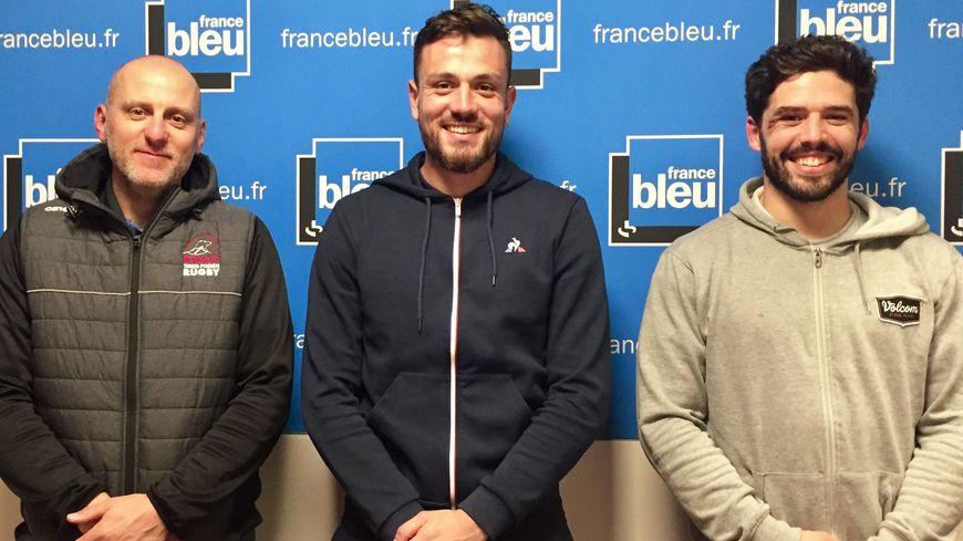 La compo : Yannick Vignette, Antoine Batisse et Julien Fumat, avec aussi Laurent Vila et Denis Baylacq.