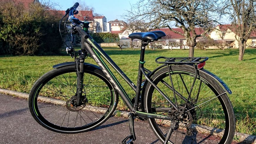 L'un des vélos volés