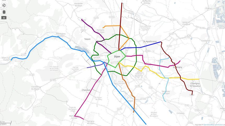 EVAD souhaite créer un véritable réseau cyclable, continu et sécurisé, à l'image d'un réseau de métro