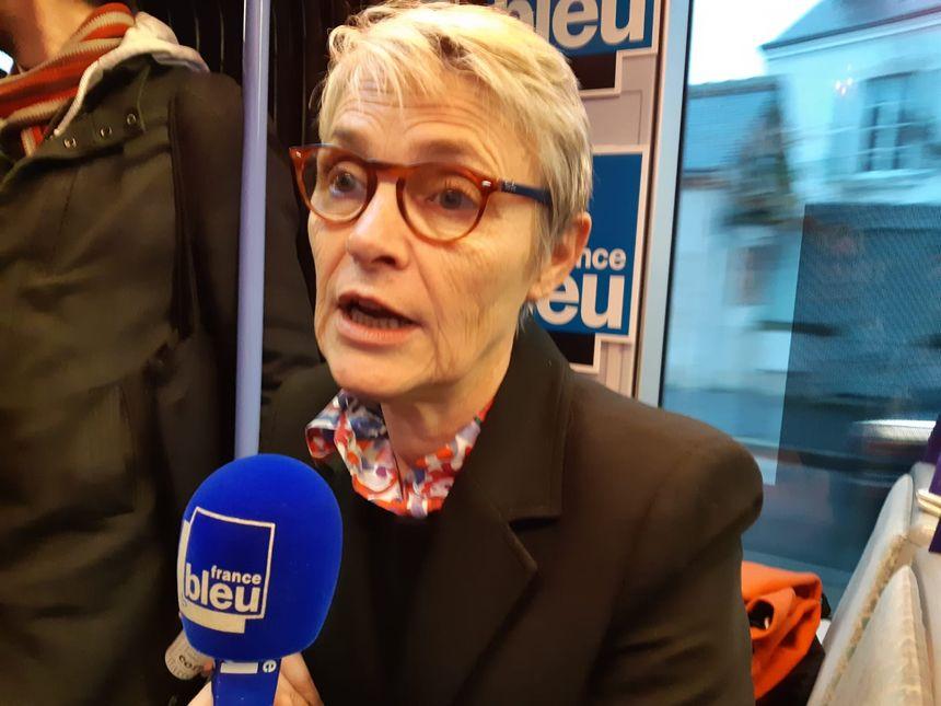 Nathalie Kerrien, candidate à la mairie d'Orléans