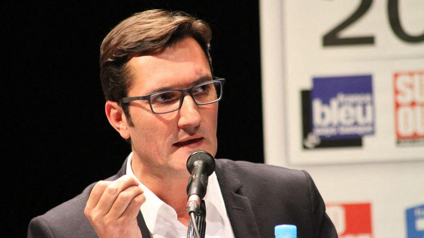 Le conseiller municipal d'opposition Olivier Dartigolles était l'invité de France Bleu Béarn, ce vendredi 24 janvier.