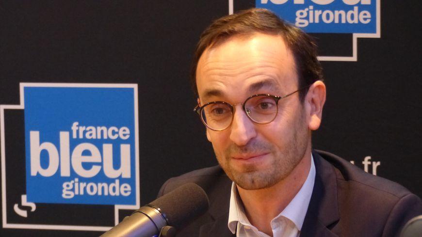 Thomas Cazenave, candidat LREM aux municipales à Bordeaux