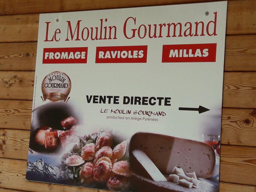 La boutique du Moulin Gourmand à Engomer en Ariège
